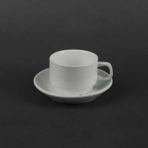 Набор для капучино Helios Чашка 200 мл + блюдце (HR1301), фото 2
