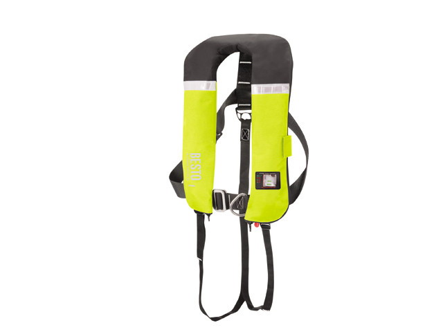 Автоматический надувной спасательный жилет Besto Inflatable Pro 300N