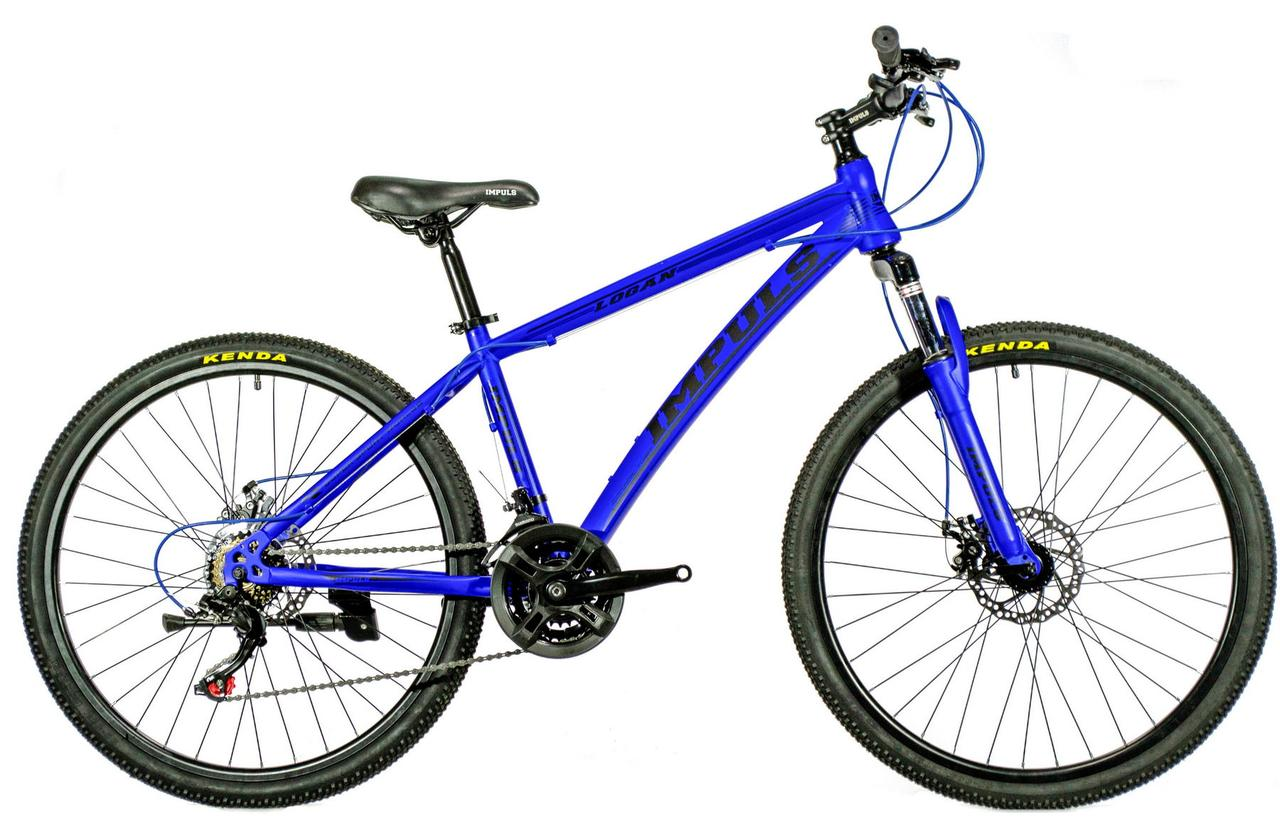 Велосипед Impuls Logan 26 blue 2019
