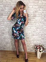Платье  принт в расцветках  90041, фото 2