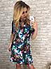 Платье  принт в расцветках  90041, фото 6