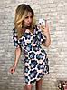 Платье  принт в расцветках  90041, фото 4