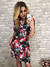 Платье  принт в расцветках  90041, фото 3