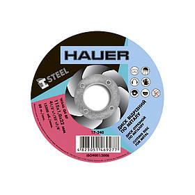 Диск отрезной Hauer по металлу 115 х 1.0 х 22 мм (17-240)