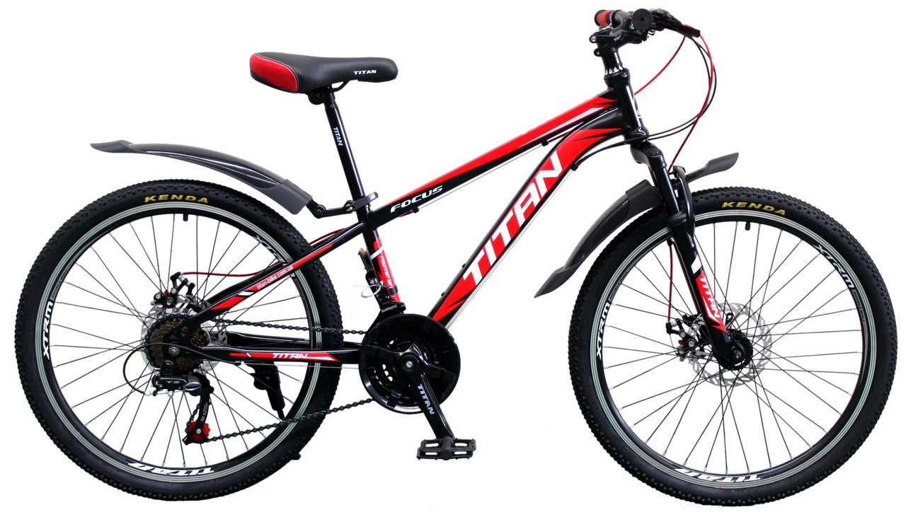 """Подростковый велосипед Titan Focus 24"""" 2019"""
