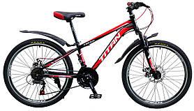 """Підлітковий велосипед Titan Focus 24"""" 2019"""