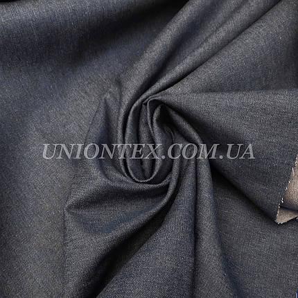 Ткань джинс плотный синий, фото 2