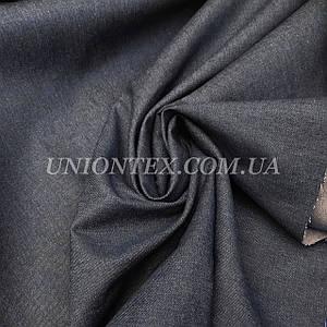 Ткань джинс плотный синий