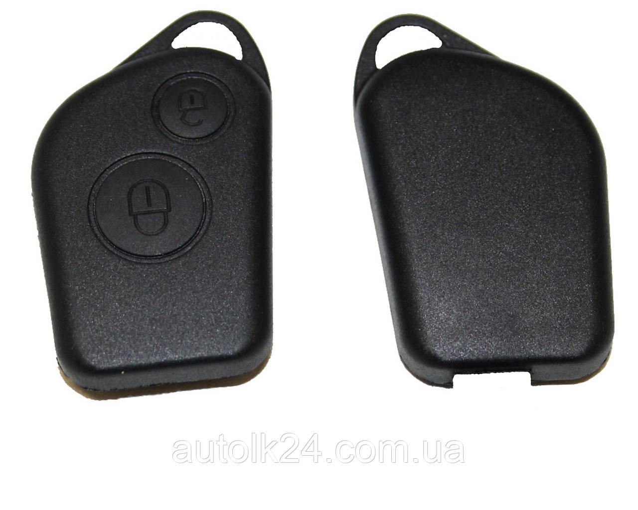 Корпус ключа для Citroen 2 кнопки