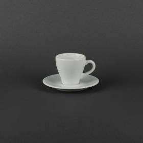 Чашка кофейная 90мл с блюдцем Lubiana ПАУЛА 1700/1771