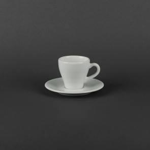 Чашка кофейная 70мл с блюдцем Lubiana ПАУЛА 1700/1771, фото 2