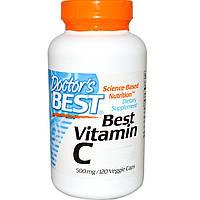 Витамин С 500мг, Doctor's Best, 120 гелевых капсул