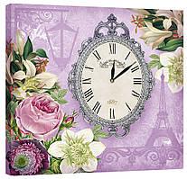 Настенные часы Декор Карпаты 53х53 Фиолетовый (53х53-D6)