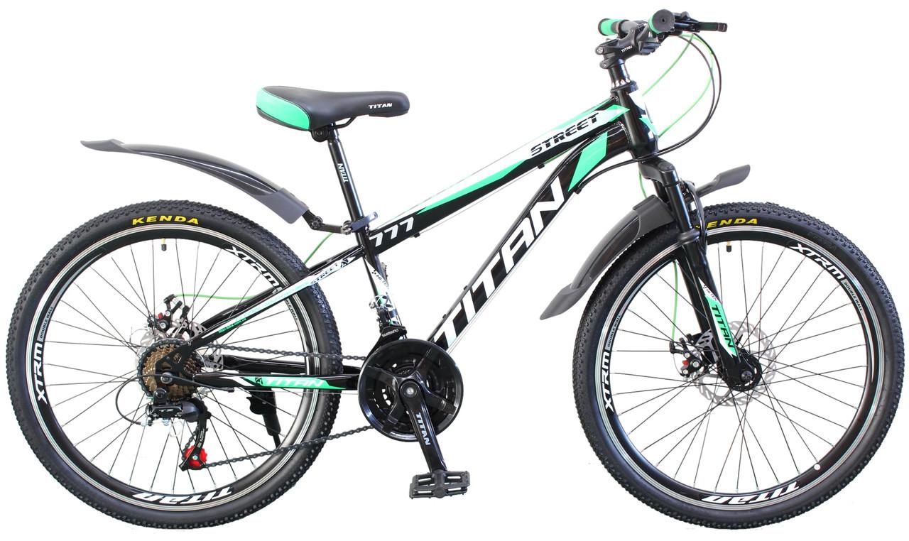 Подростковый велосипед Titan Street 24 дюймов 2019
