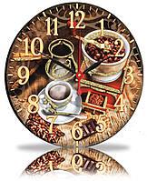 Настенные часы Декор Карпаты Кофе (25-84)