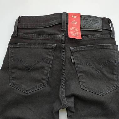 Джинсы женские Levi's 710 Super skinny/W23xL32/Mid Rise/Slim trough/Hip and thigh/Оригинал, фото 3