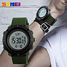 Cпортивные мужские часы  с шагомером Skmei (Скмей)1215 Dekker, фото 5