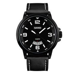 Классические мужские часы Skmei(Скмей) 9115 PROFI Black