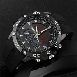 Мужские часы  на солнечной батарее 1064 Skmei Solar