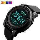 Cпортивные мужские часы Skmei 1257 Army Black, фото 3