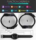 Cпортивные мужские часы Skmei 1257 Army Black, фото 5