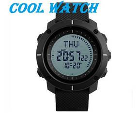 Cпортивные мужские часы с компасом Skmei(Скмей) 1216 COMPASS  Black