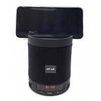Портативная Bluetooth колонка Q3 (HF-U6) с подставкой для телефона, фото 1
