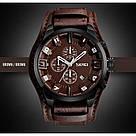 Мужские часы Skmei 9165 Braun -Braun, фото 3