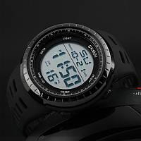 Cпортивные мужские часы Skmei  1167 Tactic Black