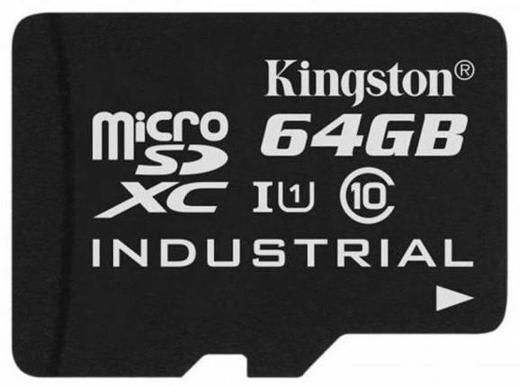 Карта памяти Kingston MicroSDHC 64GB Class 10, фото 2