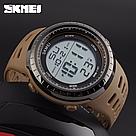 Cпортивные мужские часы Skmei(Скмей) 1167 Tactic Khak, фото 3