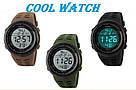 Cпортивные мужские часы Skmei(Скмей) 1167 Tactic Khak, фото 7