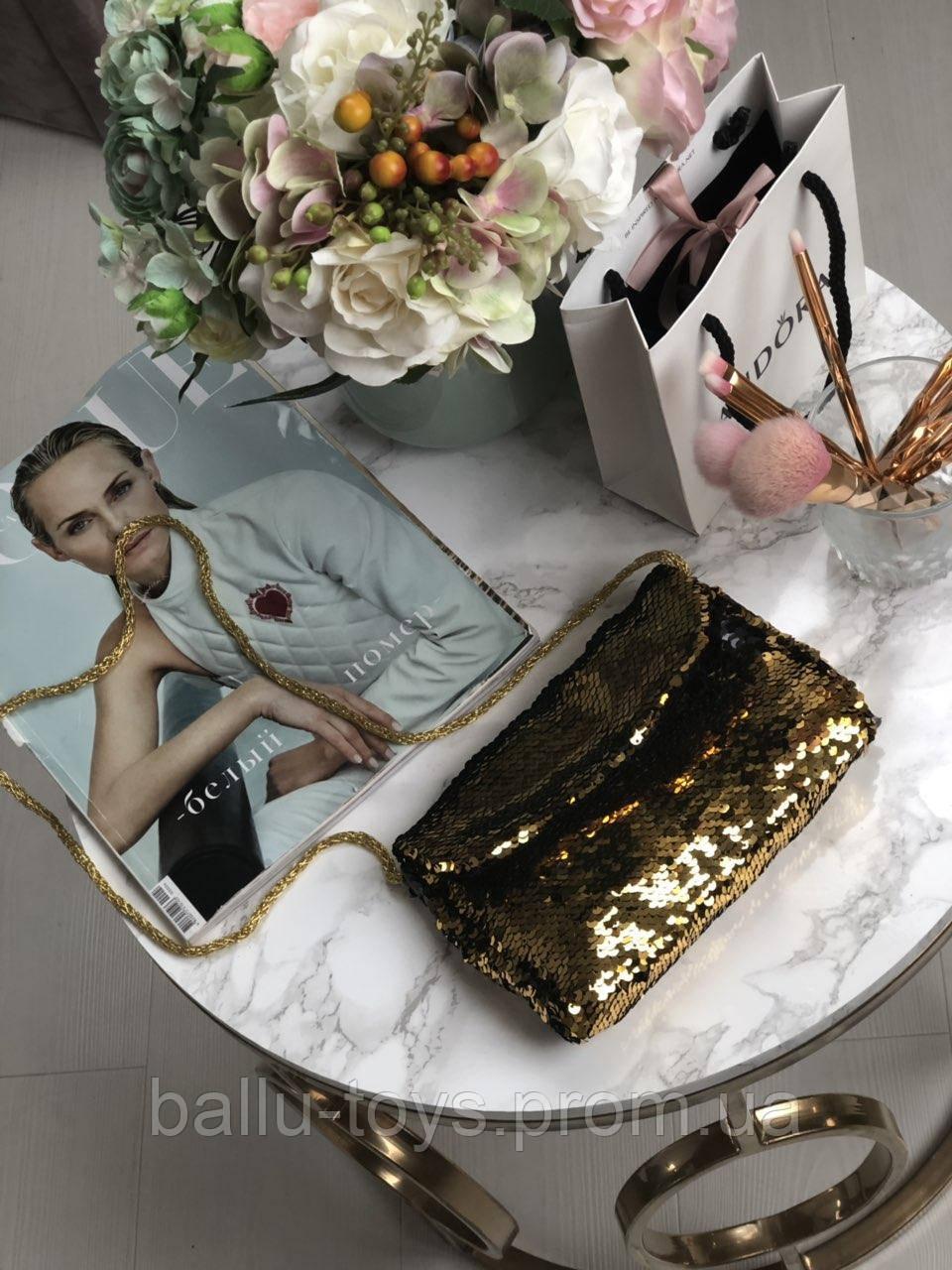 Модная сумочка для девочки (пайетки)