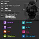 Спортивные часы Skmei(Скмей) 1206 Black -Black Ultra New, фото 5