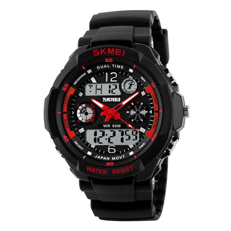 Cпортивные часы Skmei (Скмей) 0931 S-SHOCK  Red