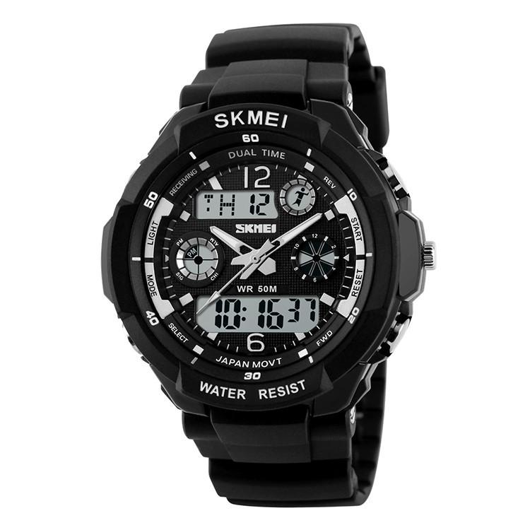 Cпортивные часы Skmei (Скмей) 0931 S-SHOCK Black