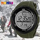• Гарантия! Skmei(Скмей) 1025 Dive Green  / Cпортивные мужские часы !, фото 2
