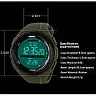 • Гарантия! Skmei(Скмей) 1025 Dive Green  / Cпортивные мужские часы !, фото 3