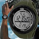 • Гарантия! Skmei(Скмей) 1025 Dive Green  / Cпортивные мужские часы !, фото 6