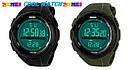 • Гарантия! Skmei(Скмей) 1025 Dive Green  / Cпортивные мужские часы !, фото 7