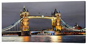 Картина на полотні Декор Карпати Міст 50х100 см (g422)