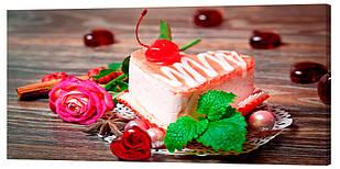 Картина на полотні Декор Карпати Десерт 50х100 см (789)