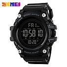Оригинальные спортивные мужские часы SKMEI (СКМЕЙ) 1384 Black / Blue / Camo, фото 2