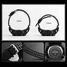 Оригинальные спортивные мужские часы SKMEI (СКМЕЙ) 1384 Black / Blue / Camo, фото 5