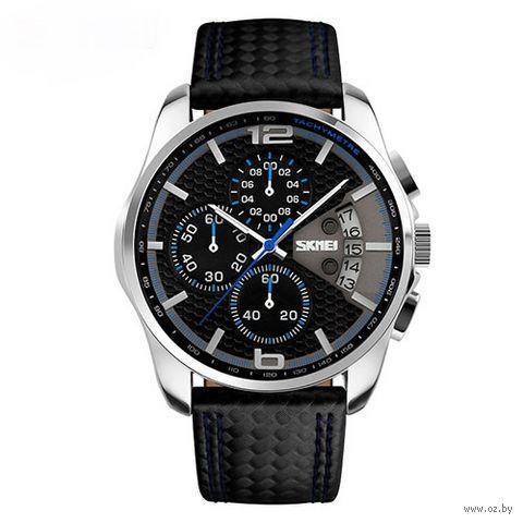 Классические мужские часы Skmei(Скмей) 9106 SPIDERI Blue