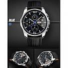 Классические мужские часы Skmei(Скмей) 9106 SPIDERI Blue, фото 4
