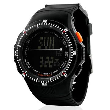 Cпортивные мужские часы Skmei (Скмей) 0989 Black