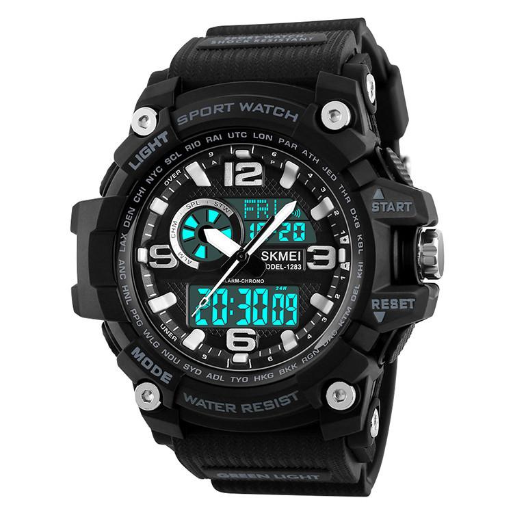 Спортивные часы Skmei(Скмей) 1283  Disel Black