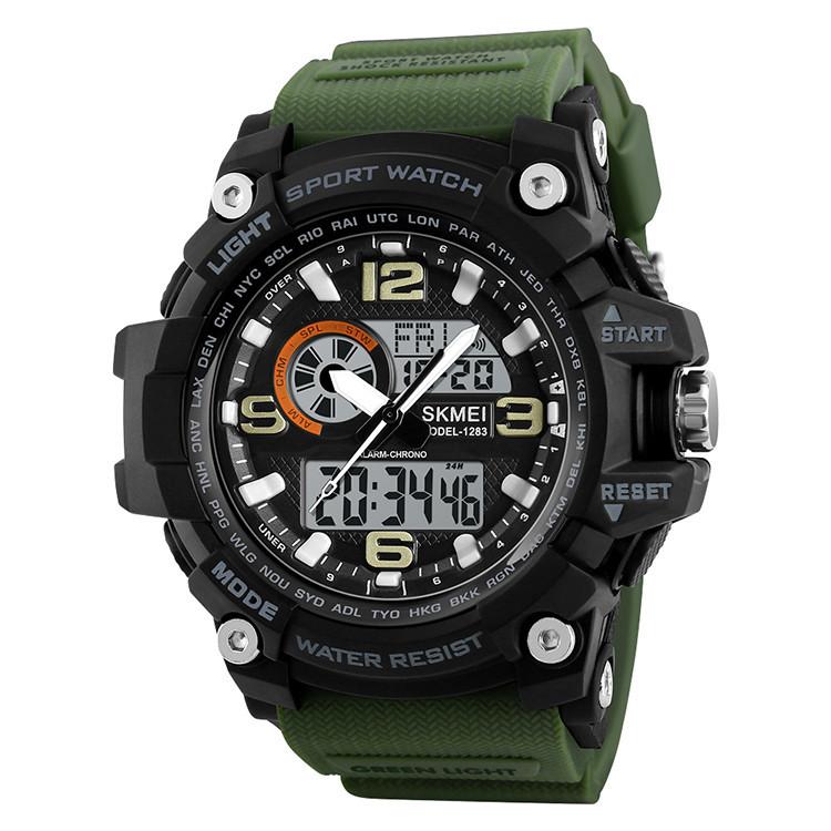 Спортивные часы Skmei(Скмей) 1283  Disel Army green