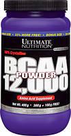 BCAA (Разветвленные Цепи Аминокислот) 12000, Ultimate Nutrition, 14 унций (400 гр)